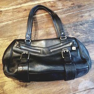 Cole Haan black leather handbag